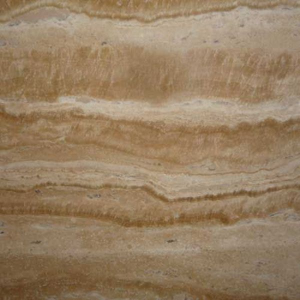 Travertine - OST8 vein cut, filled, polished